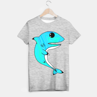 Miniature de image de Melting Shark T-shirt regular, Live Heroes