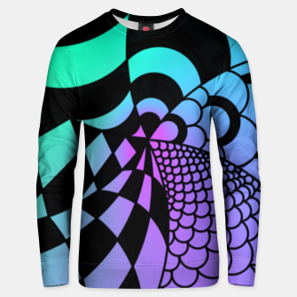 Thumbnail image of Colorful Zentangle Unisex sweater, Live Heroes