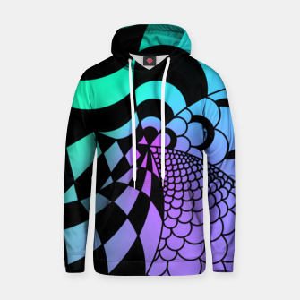 Thumbnail image of Colorful Zentangle Hoodie, Live Heroes