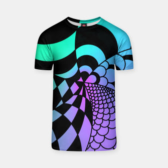 Thumbnail image of Colorful Zentangle T-shirt, Live Heroes