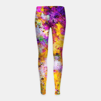 Thumbnail image of The tension Girl's leggings, Live Heroes