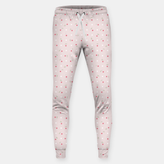 Miniature de image de Sweet cherries and polka dots in pink Sweatpants, Live Heroes