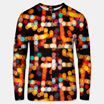 Thumbnail image of Multicolored Bubbles Pattern Unisex sweater, Live Heroes