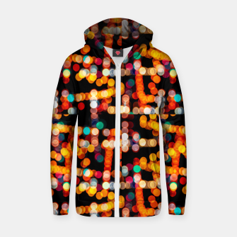 Thumbnail image of Multicolored Bubbles Pattern Zip up hoodie, Live Heroes