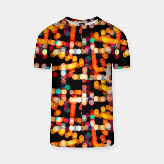 Thumbnail image of Multicolored Bubbles Pattern T-shirt, Live Heroes