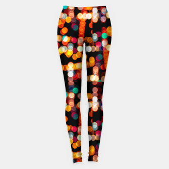 Miniaturka Multicolored Bubbles Pattern Leggings, Live Heroes