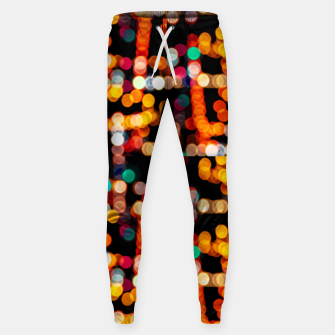 Thumbnail image of Multicolored Bubbles Pattern Sweatpants, Live Heroes