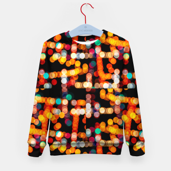 Thumbnail image of Multicolored Bubbles Pattern Kid's sweater, Live Heroes