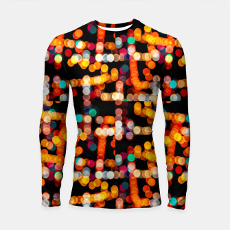 Thumbnail image of Multicolored Bubbles Pattern Longsleeve rashguard , Live Heroes