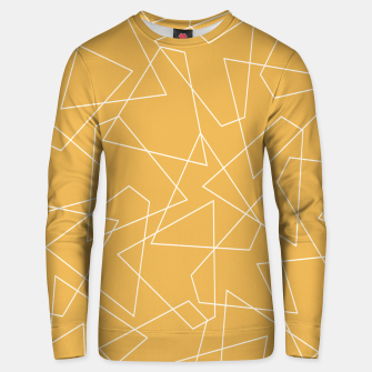 Thumbnail image of Abstract geometric pattern - bronze. Unisex sweater, Live Heroes
