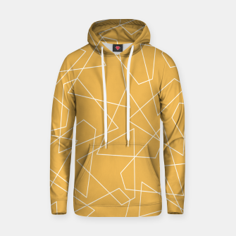 Thumbnail image of Abstract geometric pattern - bronze. Hoodie, Live Heroes