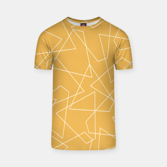 Thumbnail image of Abstract geometric pattern - bronze. T-shirt, Live Heroes