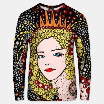 Thumbnail image of  Mujer Chica Reina Pintura Arte Noche Estrellas Sudadera unisex, Live Heroes