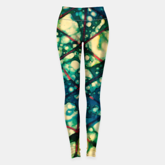 Miniature de image de blue triangles Leggings, Live Heroes