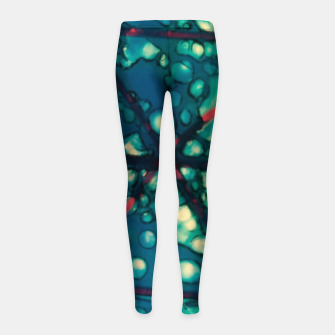 Thumbnail image of blue triangles Kinder-Leggins, Live Heroes