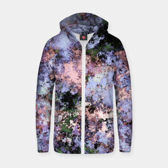 Thumbnail image of Visible breaks Zip up hoodie, Live Heroes