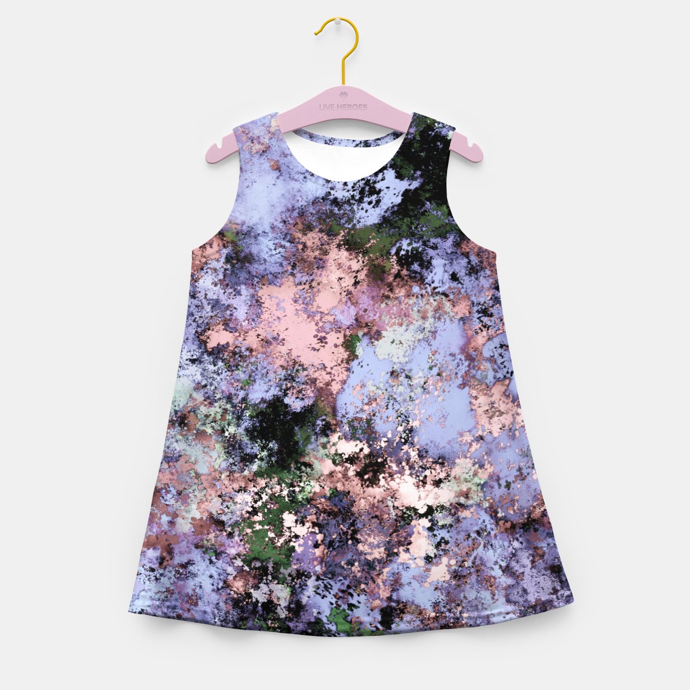 Image of Visible breaks Girl's summer dress - Live Heroes