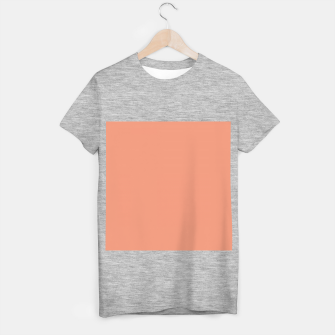 Miniature de image de color dark salmon T-shirt regular, Live Heroes