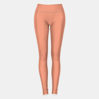 Miniature de image de color dark salmon Leggings, Live Heroes