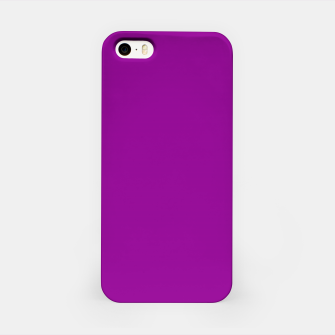 Thumbnail image of color dark magenta iPhone Case, Live Heroes