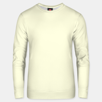 Thumbnail image of color light yellow Unisex sweater, Live Heroes