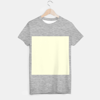 Miniature de image de color light yellow T-shirt regular, Live Heroes