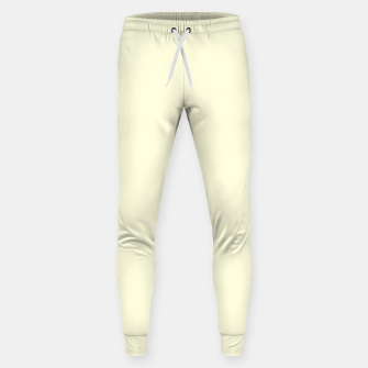 Thumbnail image of color light yellow Sweatpants, Live Heroes