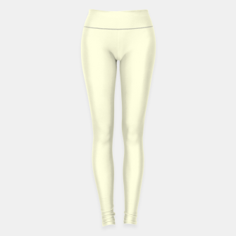 Miniature de image de color light yellow Leggings, Live Heroes