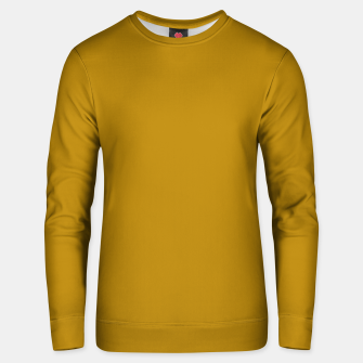 Thumbnail image of color dark goldenrod Unisex sweater, Live Heroes