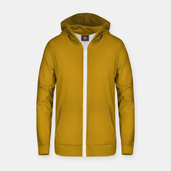 Thumbnail image of color dark goldenrod Zip up hoodie, Live Heroes