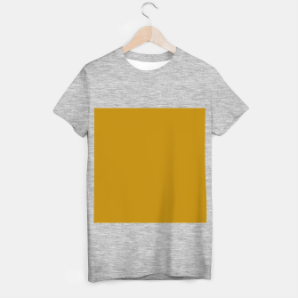 Miniature de image de color dark goldenrod T-shirt regular, Live Heroes