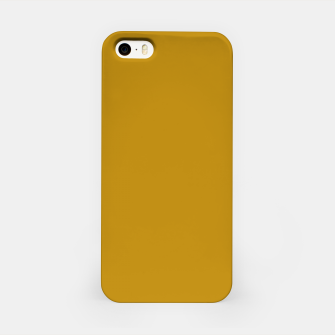 Thumbnail image of color dark goldenrod iPhone Case, Live Heroes