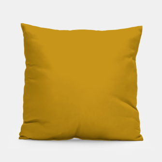 Thumbnail image of color dark goldenrod Pillow, Live Heroes