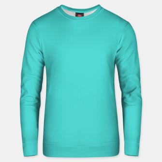 Thumbnail image of color medium turquoise Unisex sweater, Live Heroes