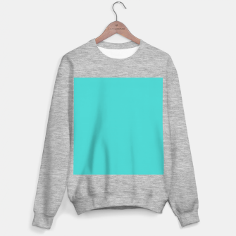 Thumbnail image of color medium turquoise Sweater regular, Live Heroes