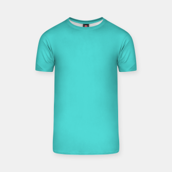 Thumbnail image of color medium turquoise T-shirt, Live Heroes