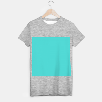 Miniature de image de color medium turquoise T-shirt regular, Live Heroes