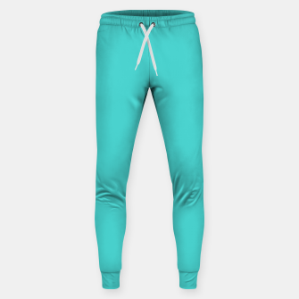 Thumbnail image of color medium turquoise Sweatpants, Live Heroes