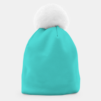 Thumbnail image of color medium turquoise Beanie, Live Heroes
