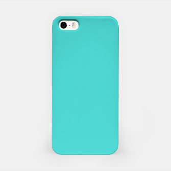 Thumbnail image of color medium turquoise iPhone Case, Live Heroes