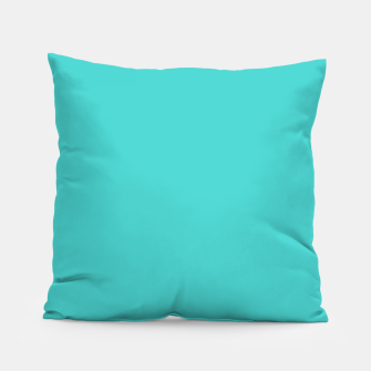 Thumbnail image of color medium turquoise Pillow, Live Heroes