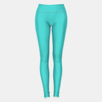 Miniature de image de color medium turquoise Leggings, Live Heroes