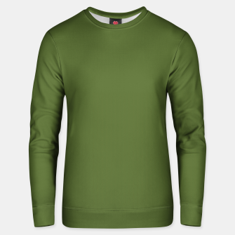 Thumbnail image of color dark olive green Unisex sweater, Live Heroes