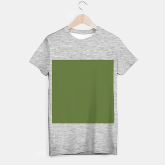 Miniature de image de color dark olive green T-shirt regular, Live Heroes