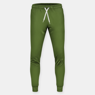 Thumbnail image of color dark olive green Sweatpants, Live Heroes