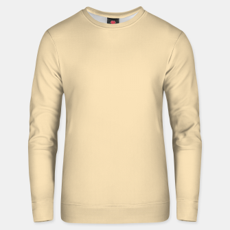 Thumbnail image of color wheat Unisex sweater, Live Heroes