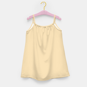 Thumbnail image of color wheat Girl's dress, Live Heroes