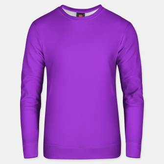 Thumbnail image of color dark orchid Unisex sweater, Live Heroes