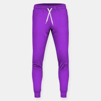 Thumbnail image of color dark orchid Sweatpants, Live Heroes