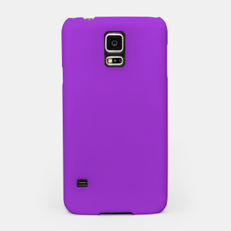 Miniaturka color dark orchid Samsung Case, Live Heroes